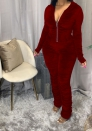 2020 Styles Women Fashion INS Styles Print Long Sleeve Ruffle Jumpsuit
