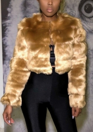 Women Coats.AIMTOPPY Womens Ladies Warm Faux Fur Coat Jacket