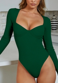 Women V-Neck One Piece Bodysuit Bodycon Rompers Overall