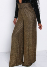 Women Fashion Loose Wide Leg Long Pants