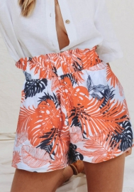 Women Fashion Floral Short Pants