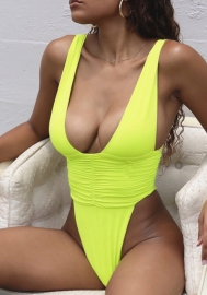 Women's Island Goddess Multi Strap Cross Back One Piece Swimsuit