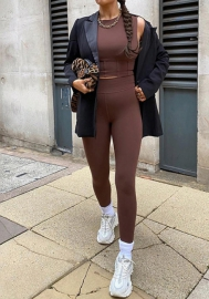 2020 Styles Women Fashion INS Styles Yoga Tracksuit Suit